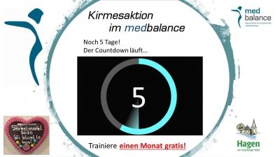 Der Countdown läuft...