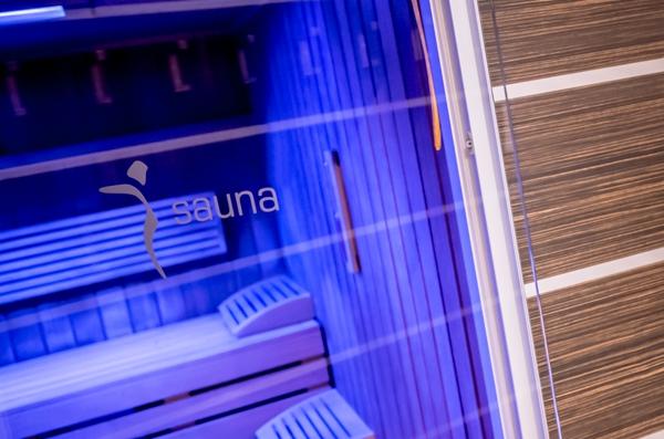 Umbauarbeiten in der Sauna